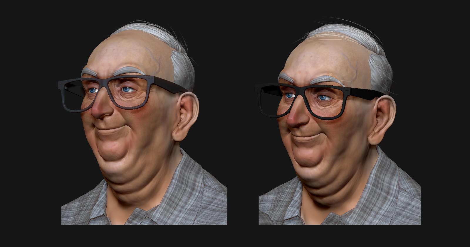 Old gentlemen - WIP