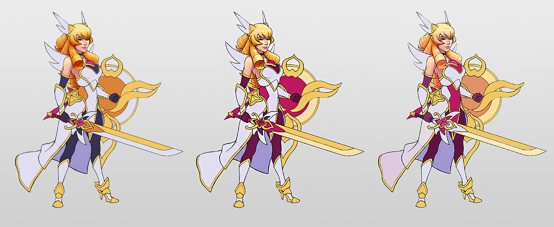 Artstation Lol Skin Concept Star Guardian Leona Thorsten Erdt