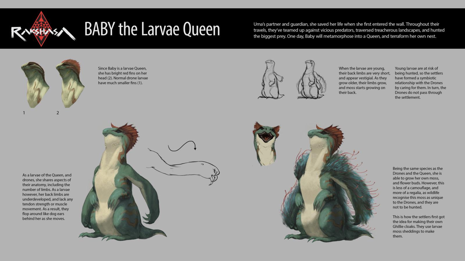 RAKSHASA: Baby The Larvae Queen