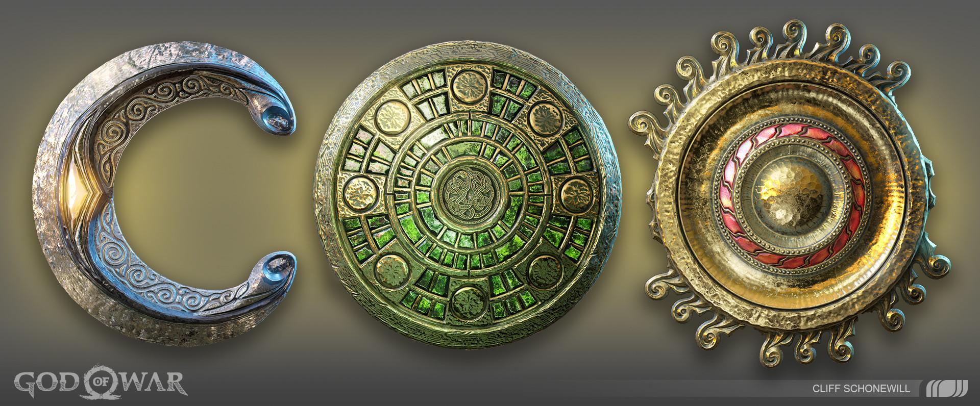 Cliff schonewill medallions