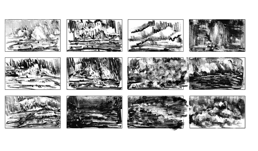 Black and white thumbnails