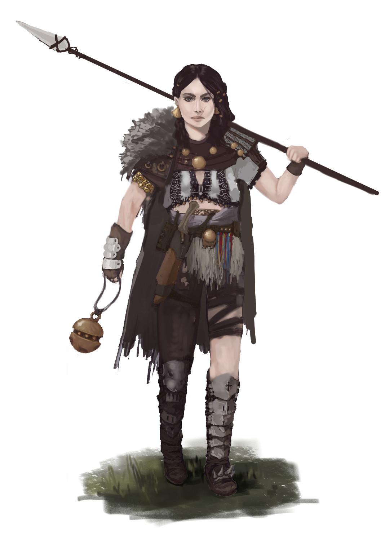 Degenesis RPG Character
