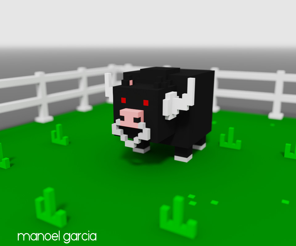 Manoel garcia bull