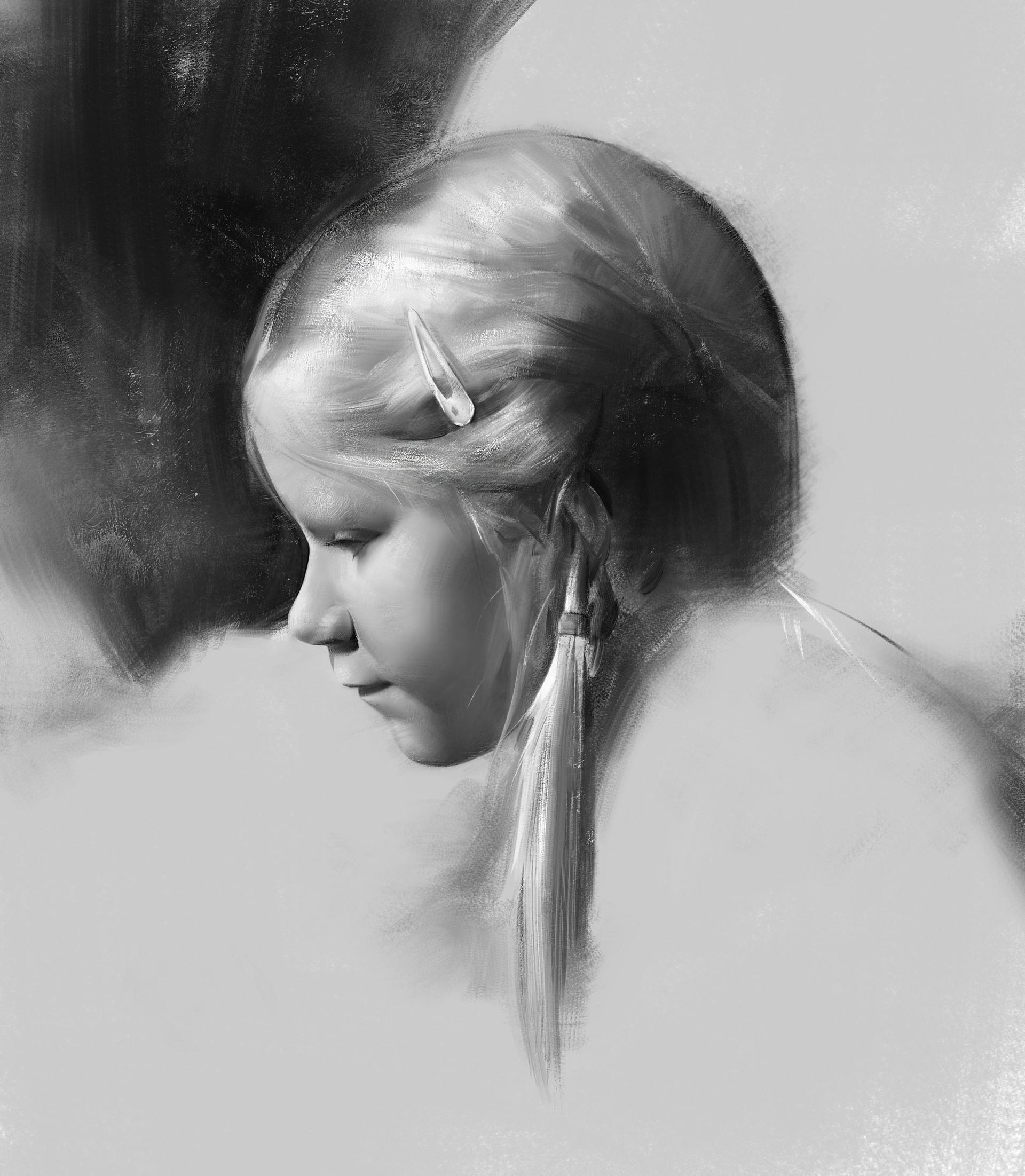 A little girl by Jianghua Wu [1920 x 2203]