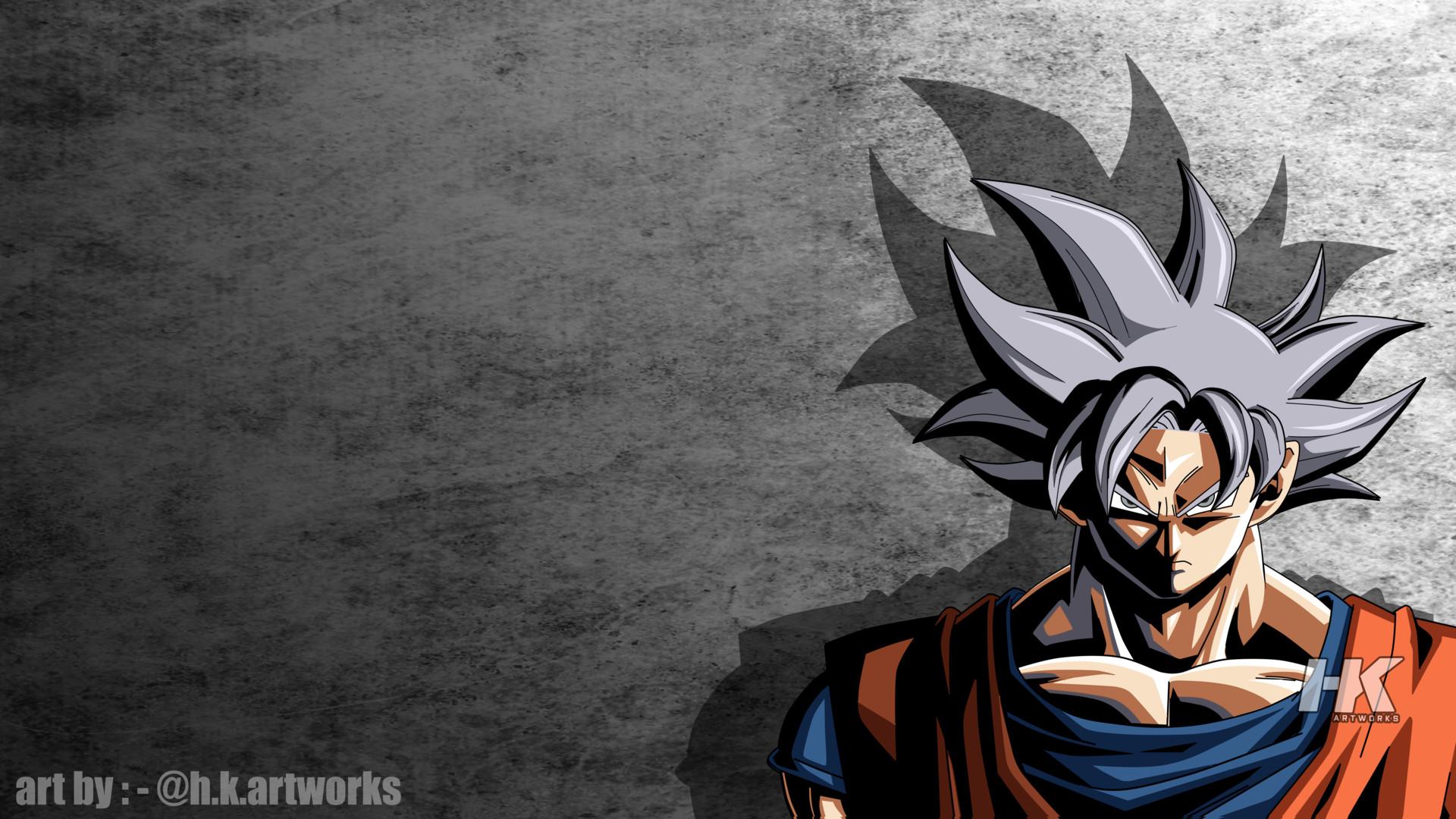 Artstation Goku Mastered Ultra Instinct Xenoverse Style Hk