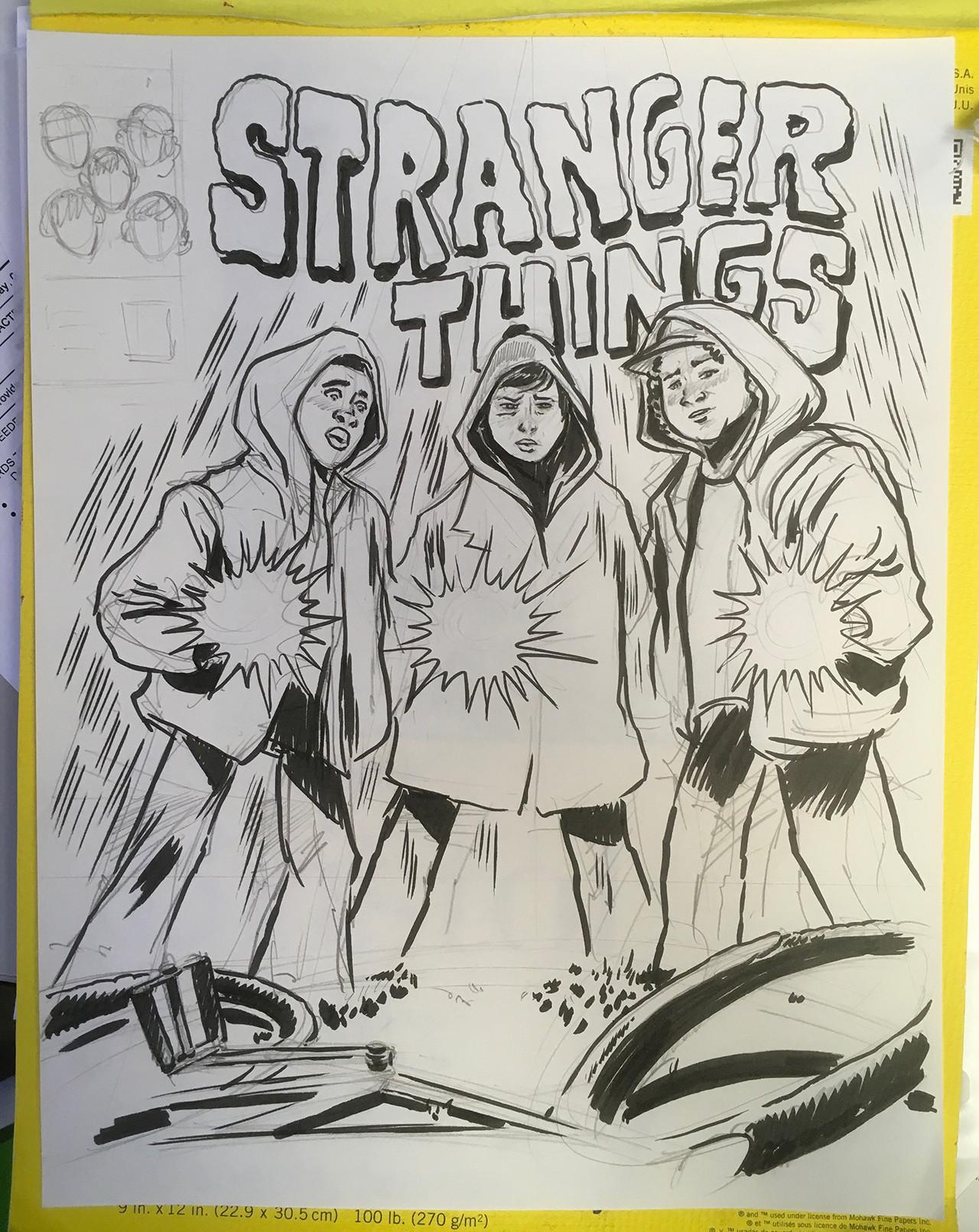 Cheyne gallarde stranger sketch