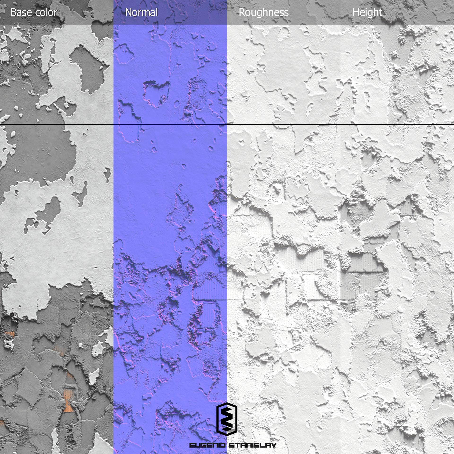Eugenio stanislav old urban wall plantilla 4 maps
