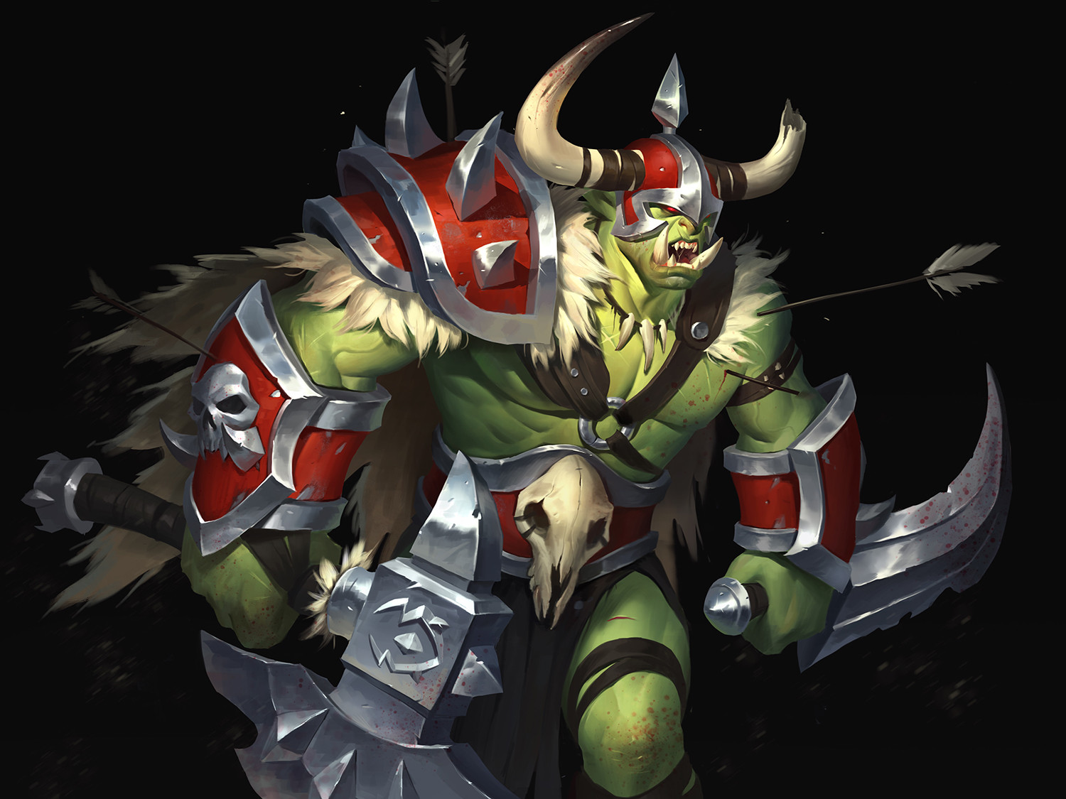 Whb orc warrior