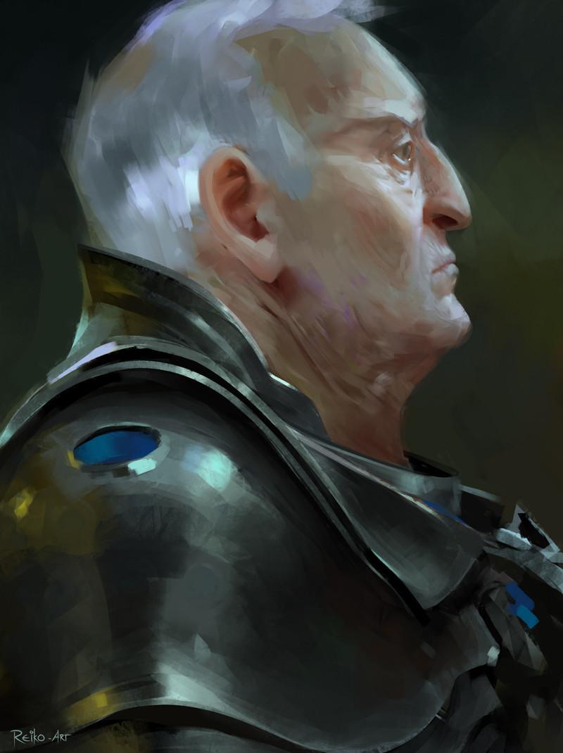 Halmuut, a warrior