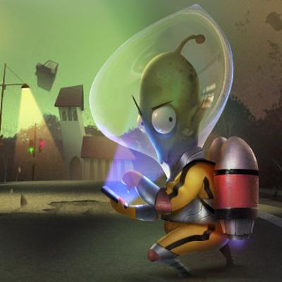 Reiko gross illustration aliengravity3