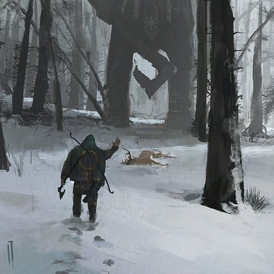 Ismail inceoglu st george and the woodman