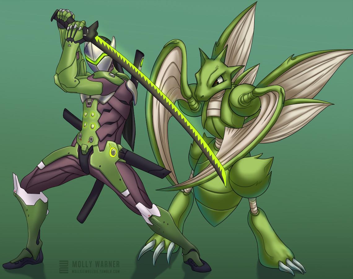 Genji & Scyther