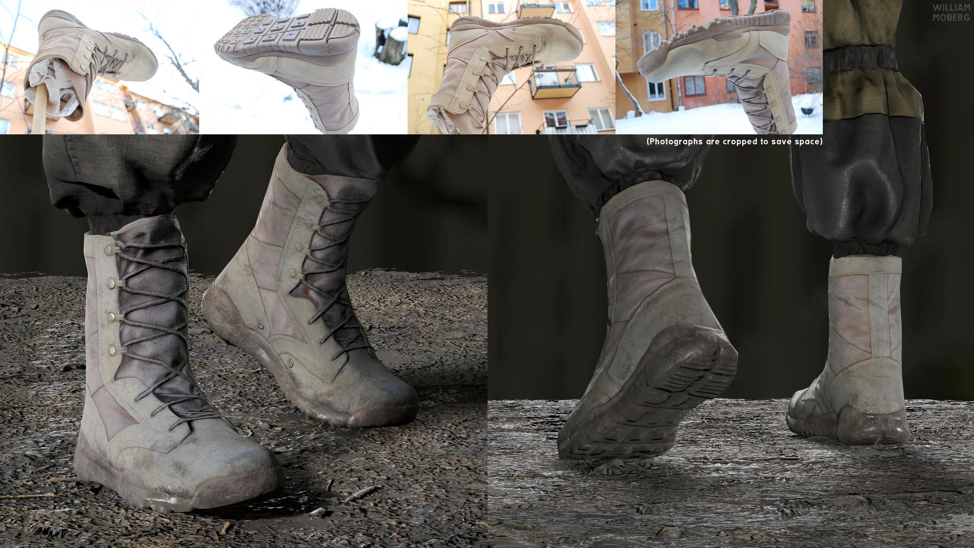 William moberg boots