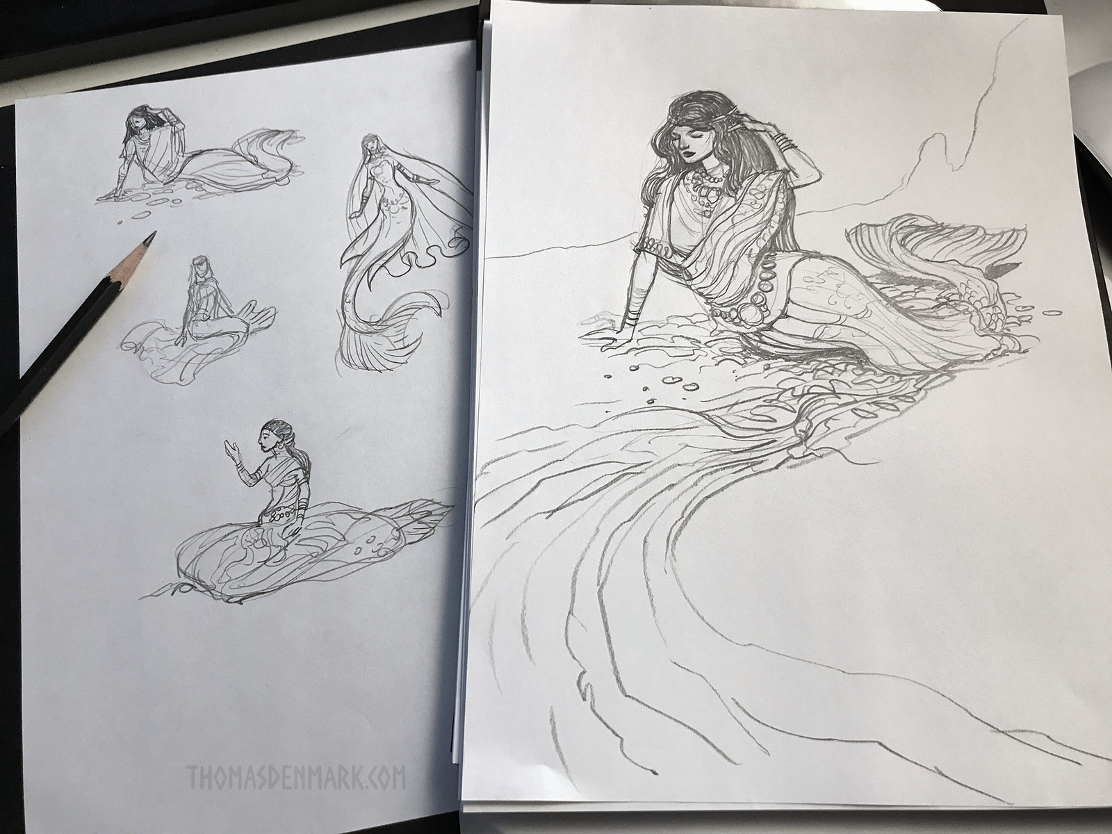 Djullanar sketch