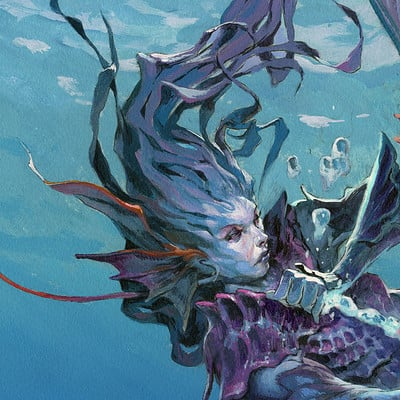 Jesper ejsing art id 404127 merfolk bubble mage final lips
