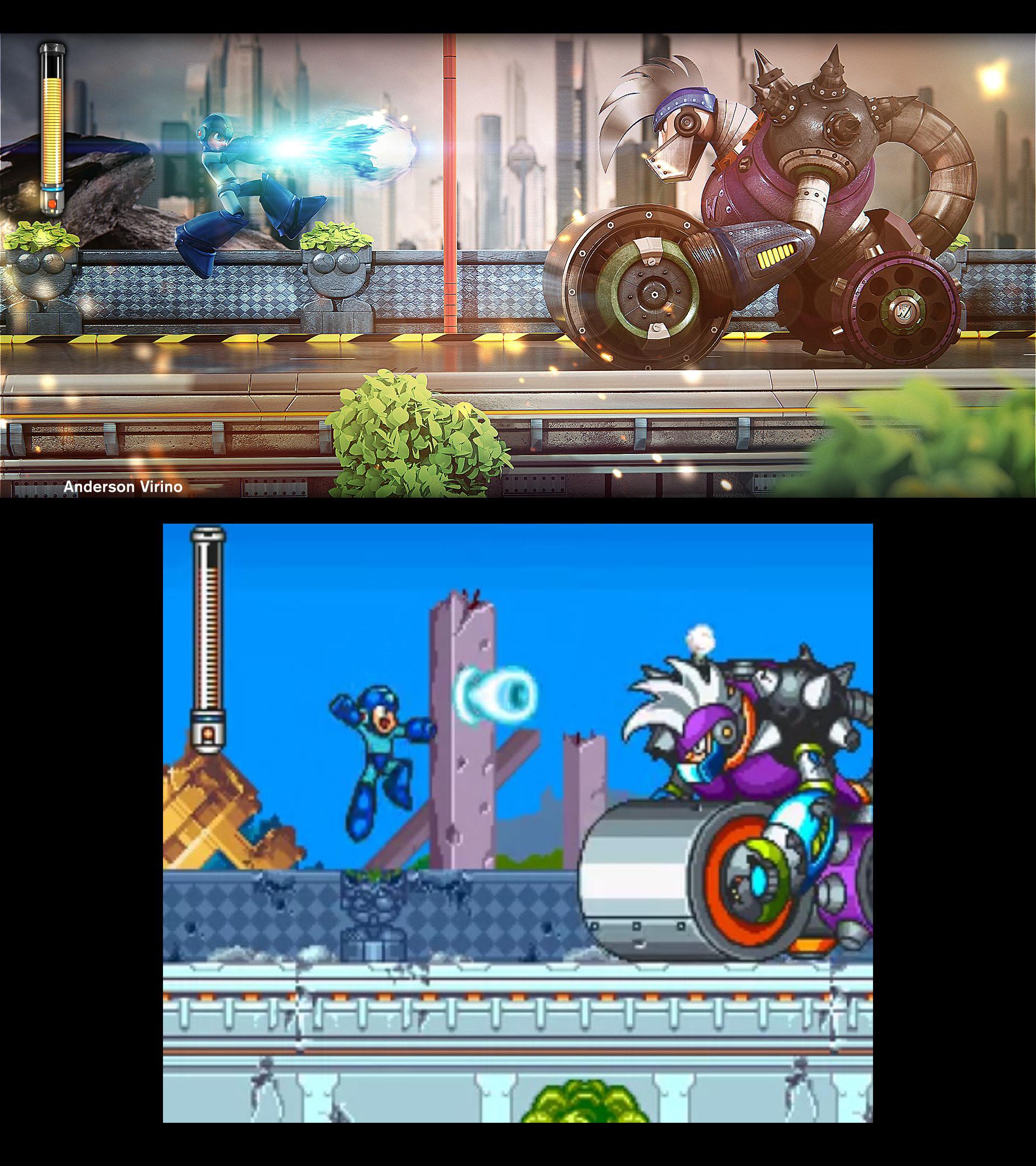 ArtStation - Megaman / Rockman cgi animation, Anderson Virino