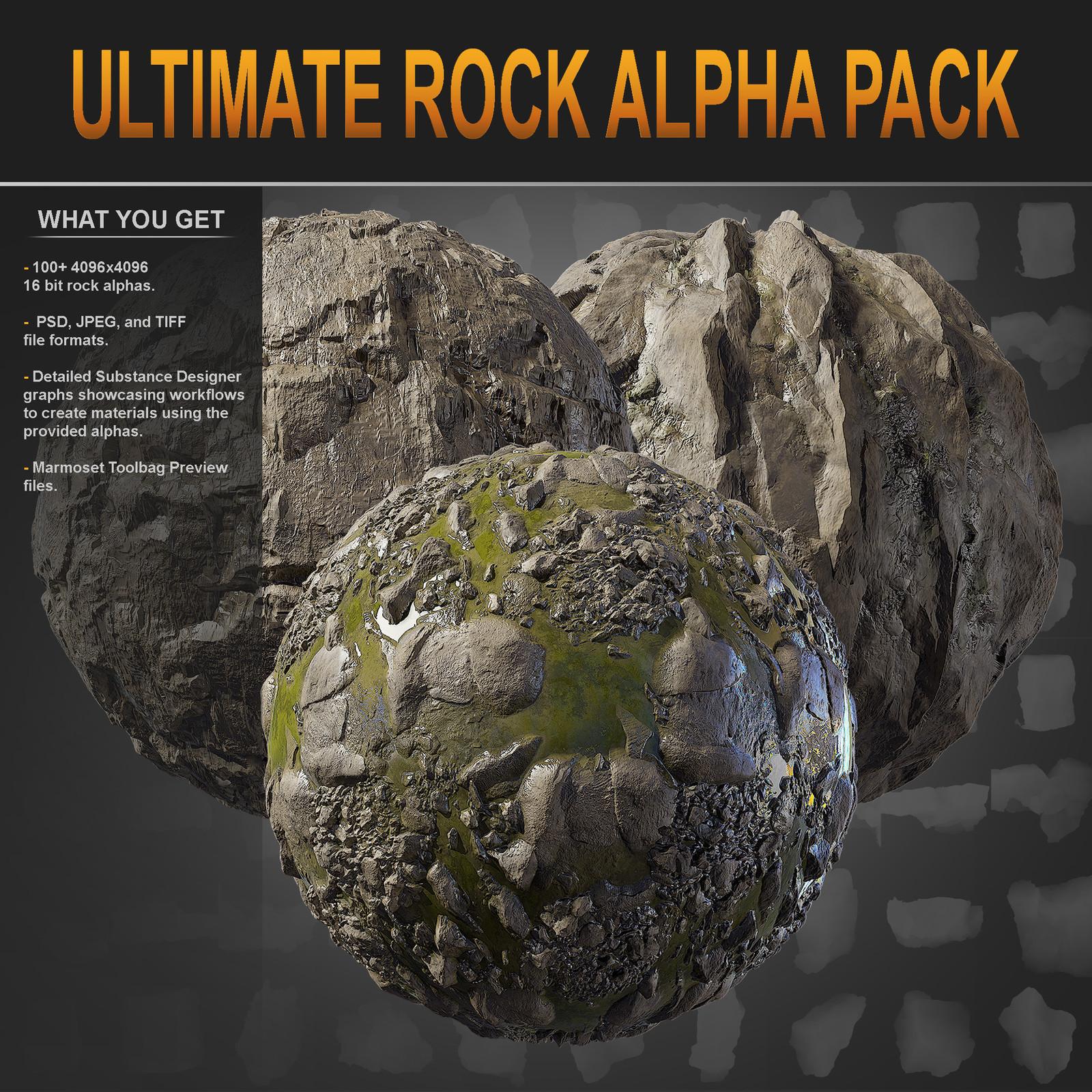 Ultimate Rock Alpha Pack