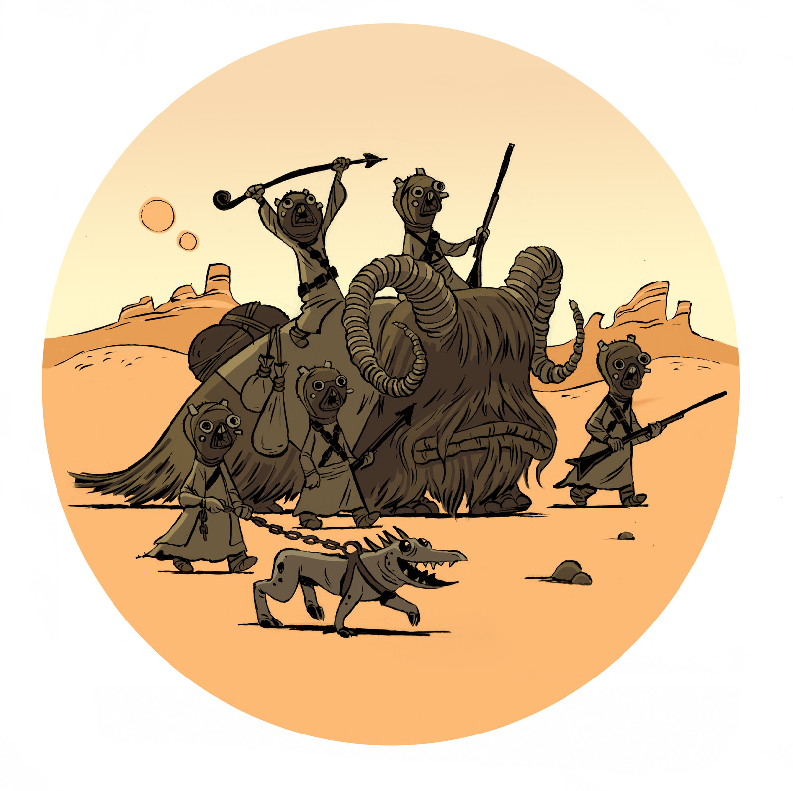 Tuskin Raiders