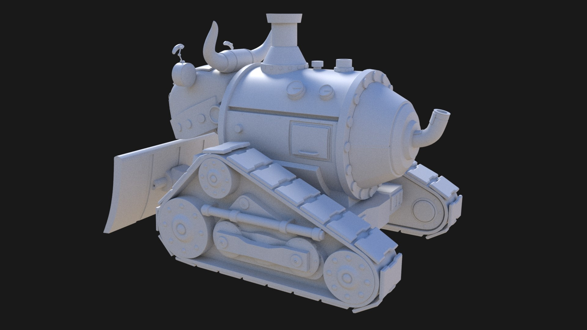 John yau bulldozer 02