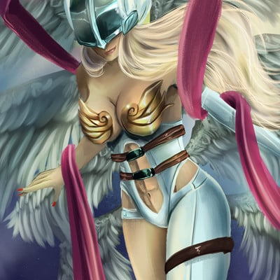 Danni mcgowan angewomon web