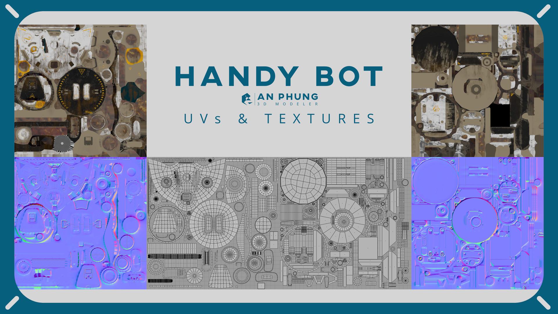 An phung phung handybot uvs textures