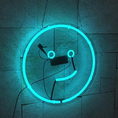 Divan leon visser kinda funny neon logo render