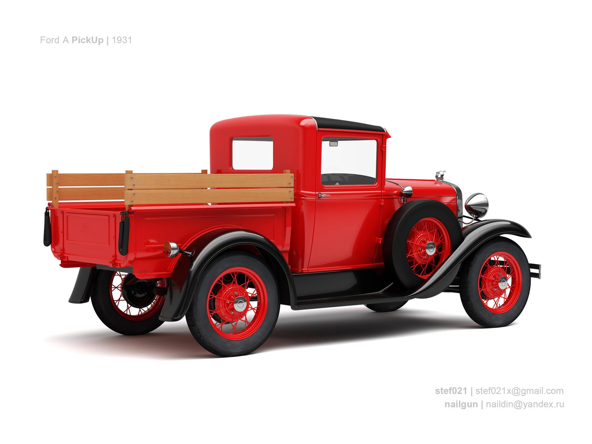Nail khusnutdinov usa ford a pickup 1931 1