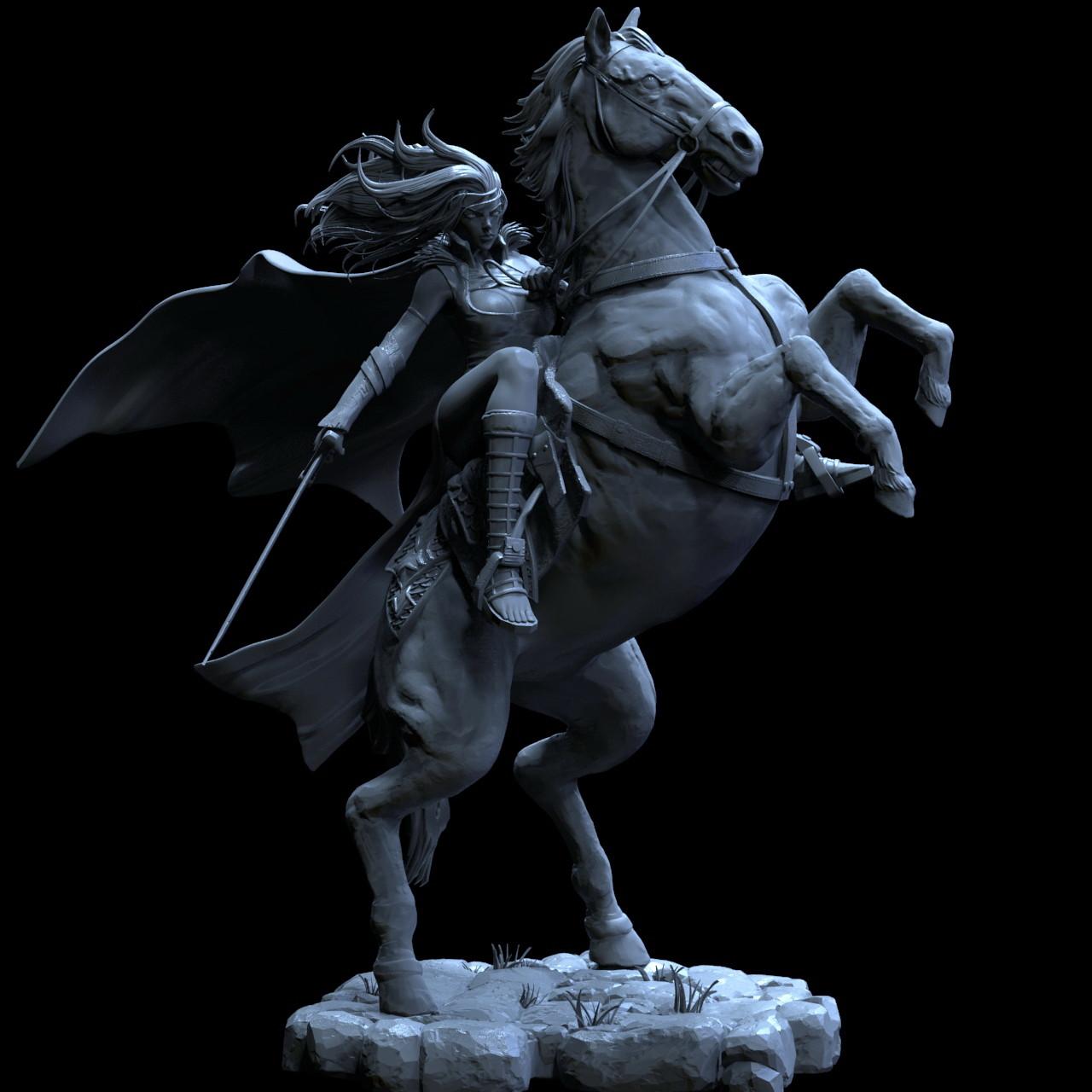 Mars horse gray 152
