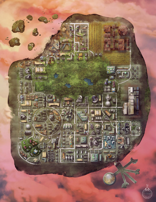 Istamak City map