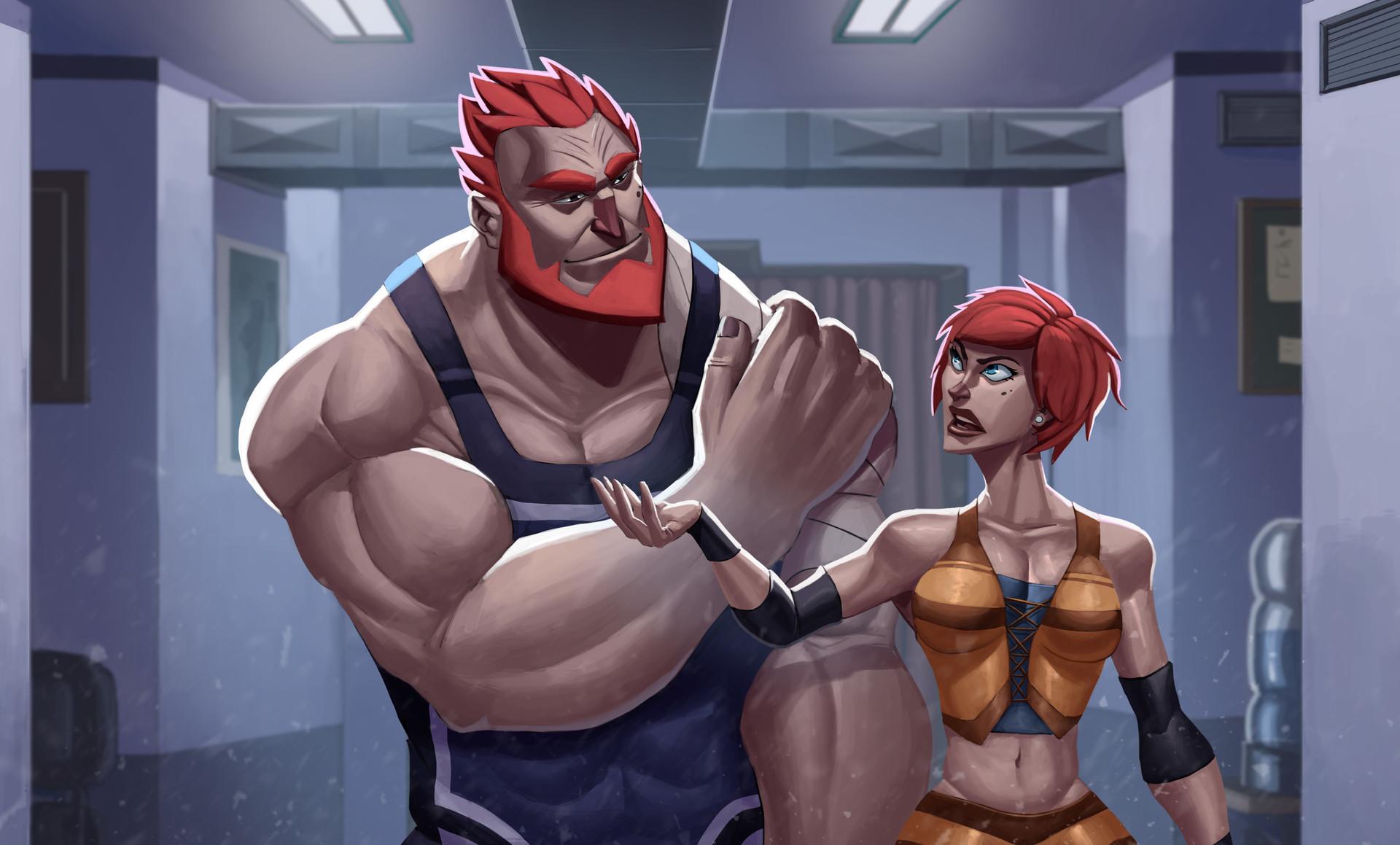 Juanda rico cap2 wrestlers
