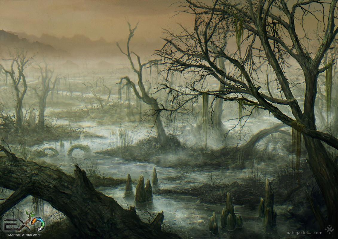 [EXO: Mankind Reborn] - Landscapes