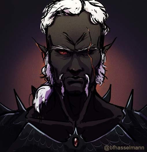 Old Drow Warrior