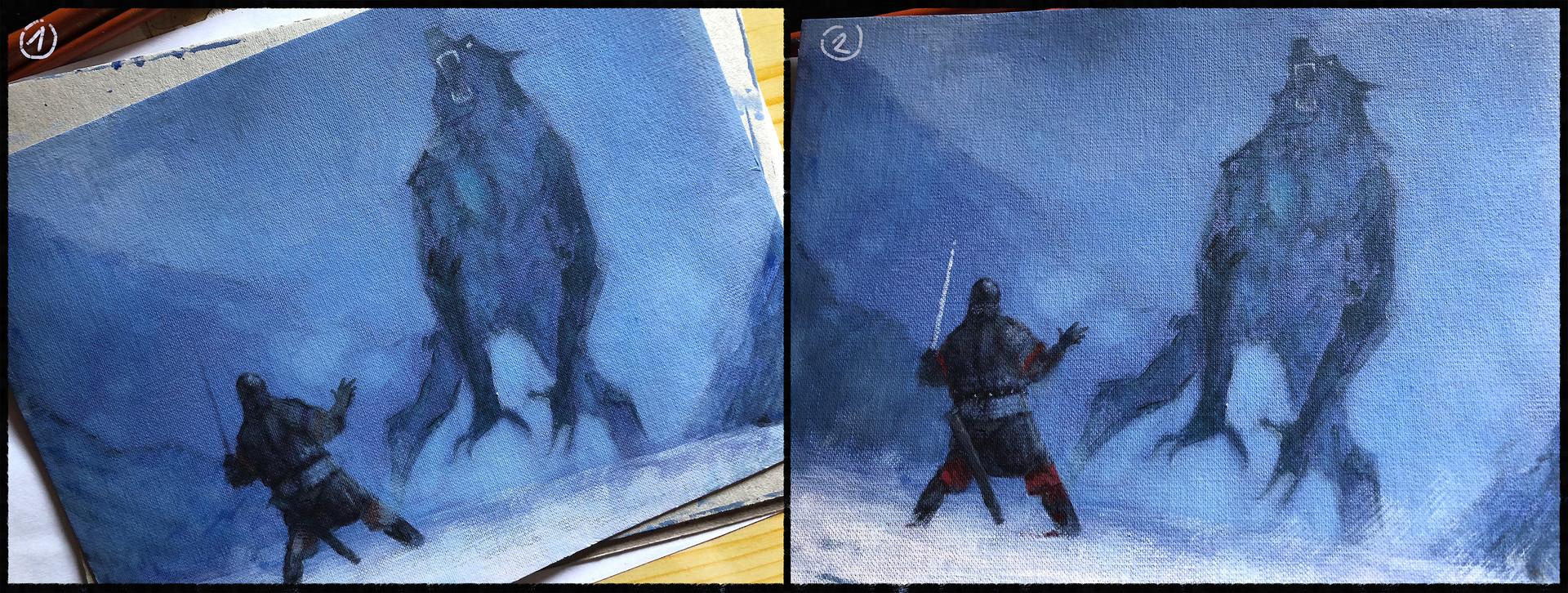 Jakub rozalski wolff proces01