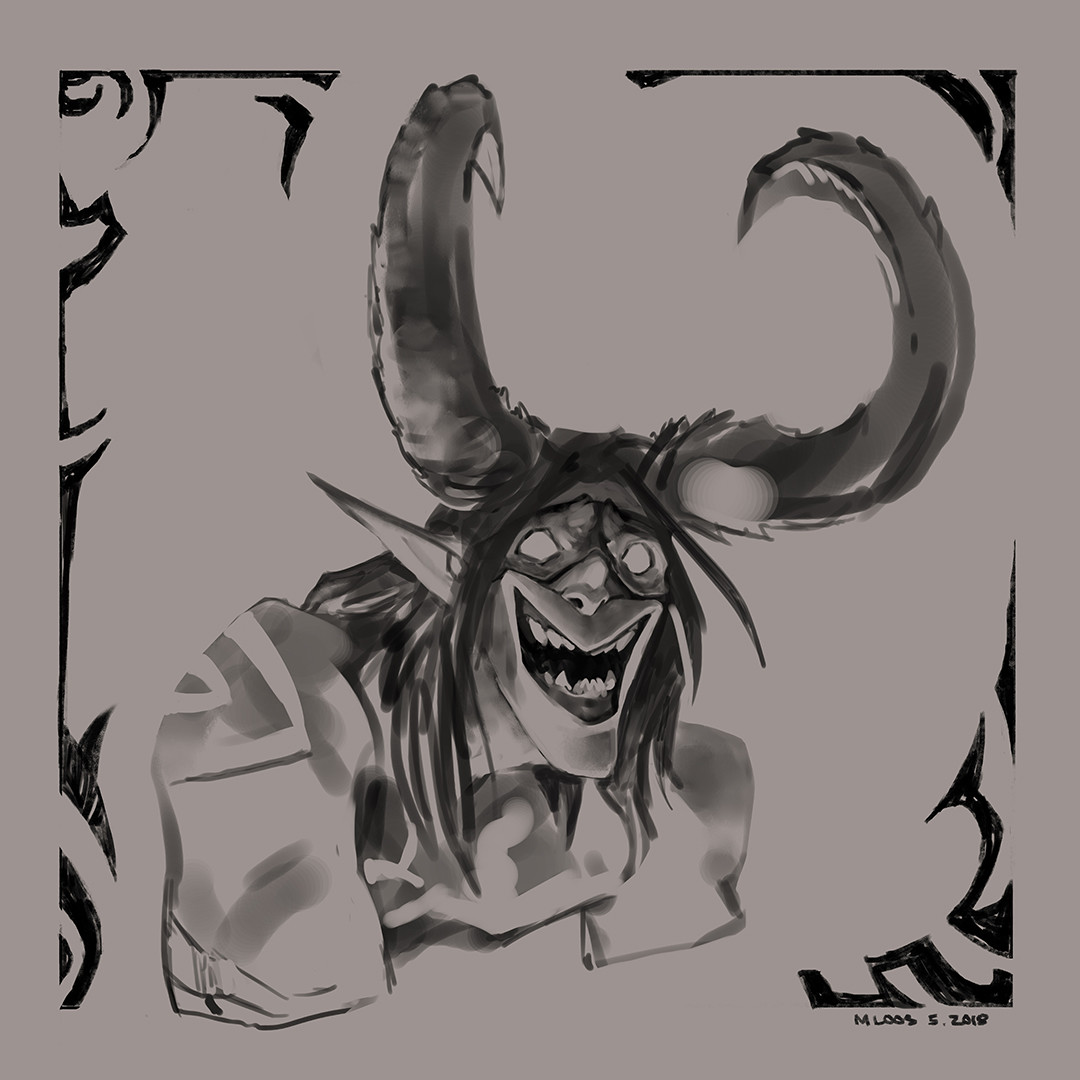 Michael loos illidan sketch