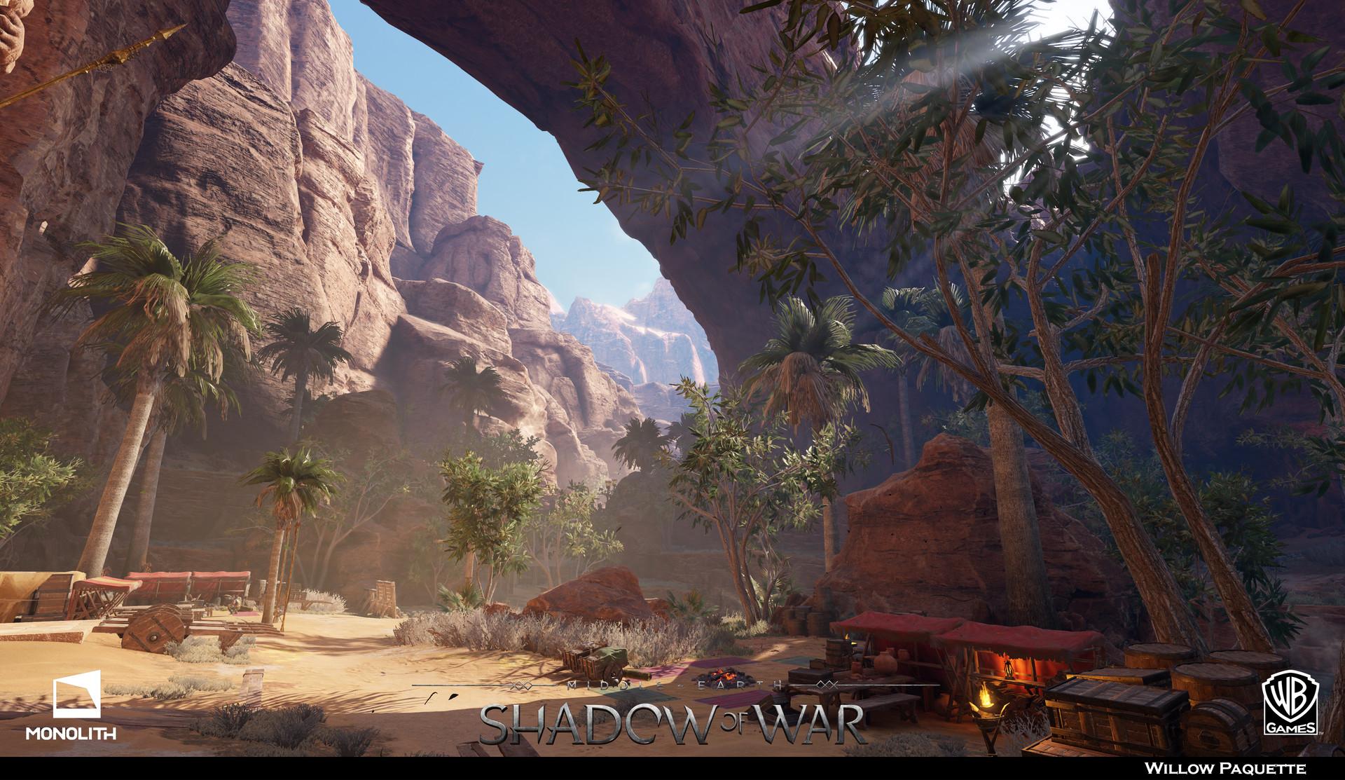Artstation Vegetation Middle Earth Shadow Of War Dlc4