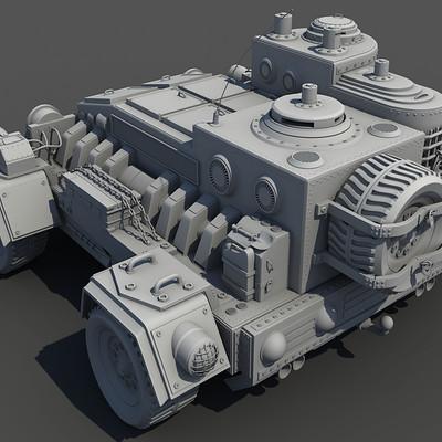 Piotr jedzinski armored recon car
