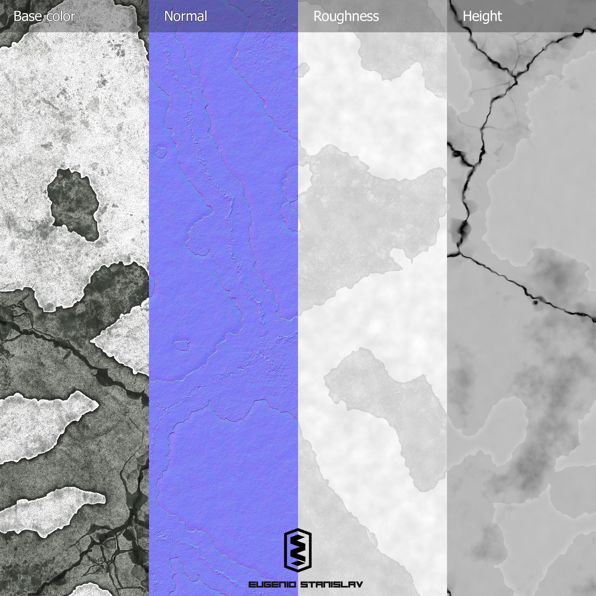 Eugenio stanislav broken concrete maps