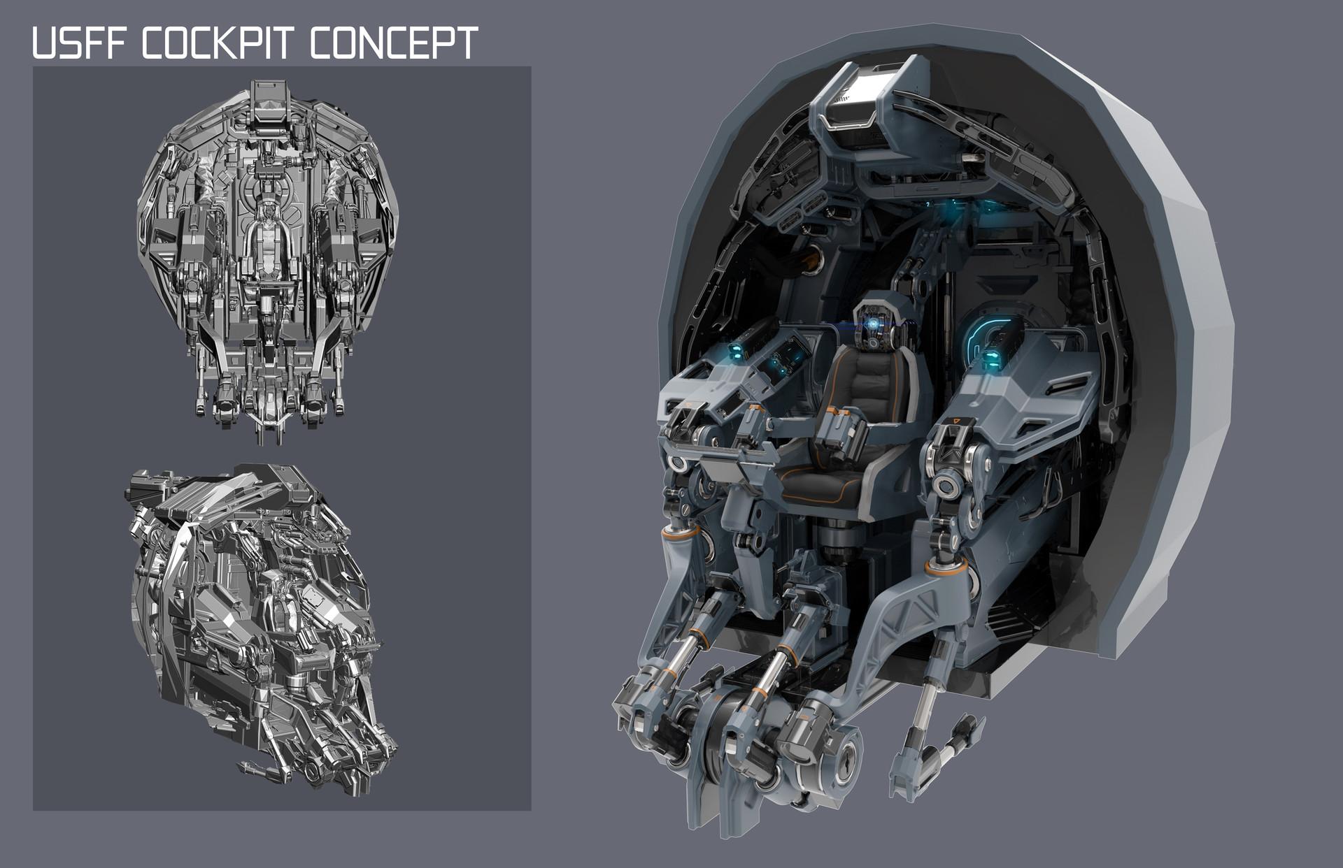 ArtStation - Archangel Hellfire Cockpits, bryant Koshu