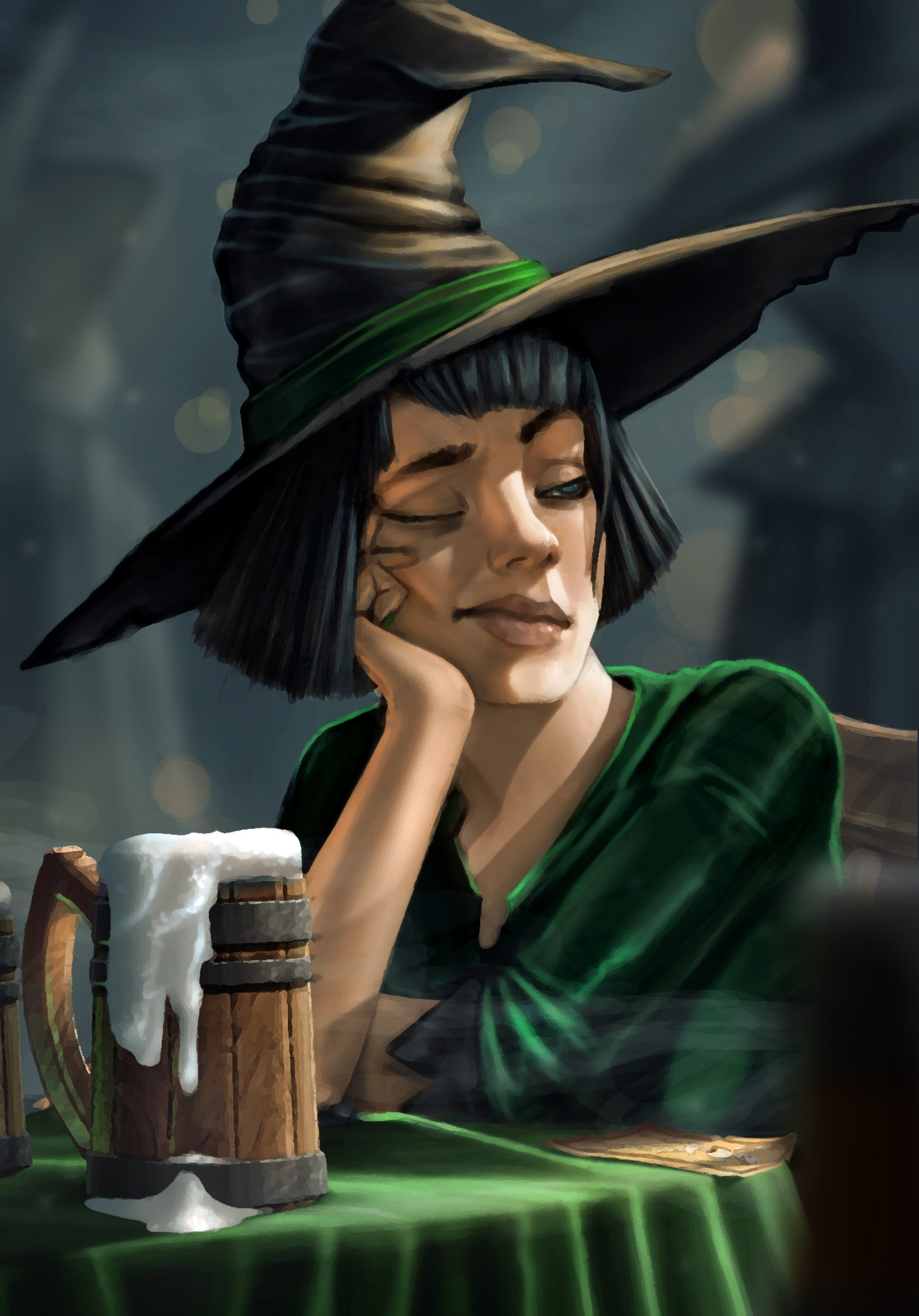 Being a witch can be boring.