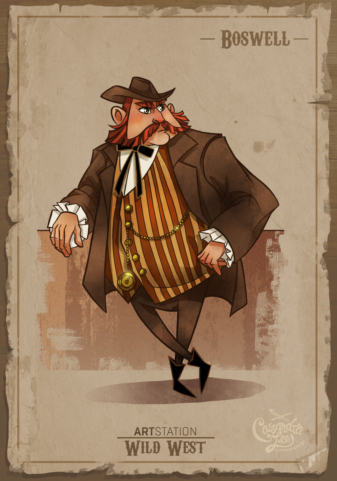 Boswell the saloon owner