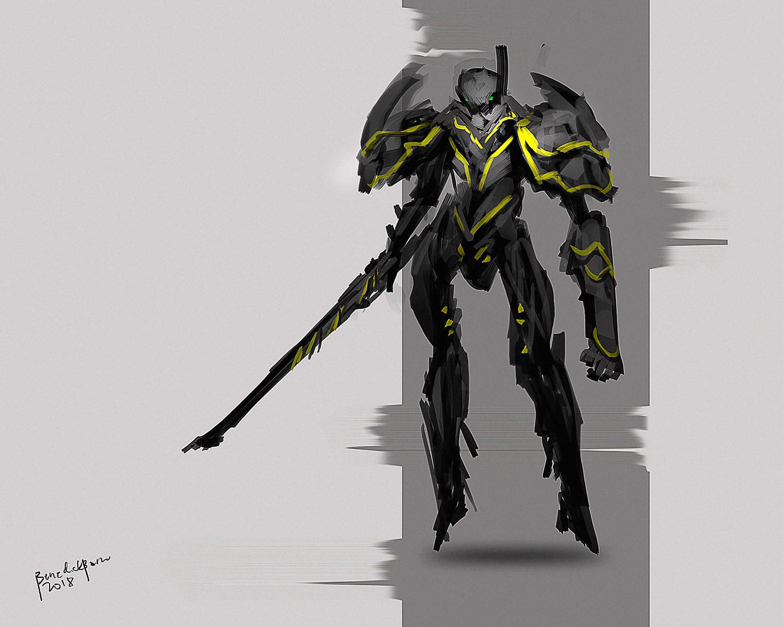 Benedick bana sword slasher2 lores