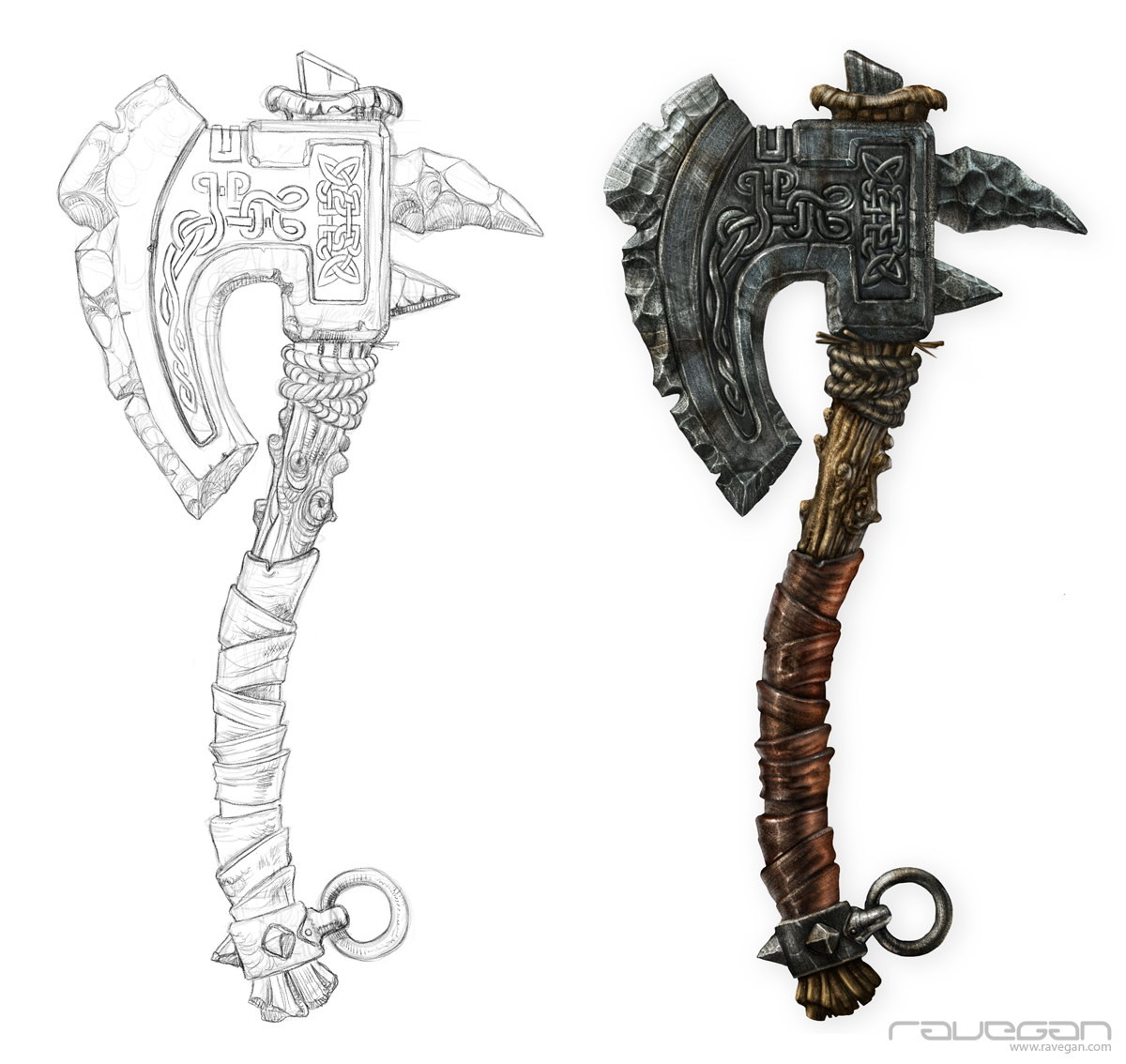 Ravegan games ravegan vikings axe