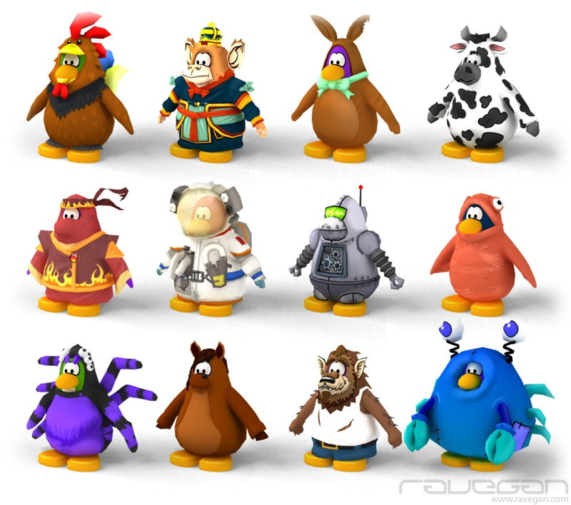 Ravegan games club penguin 02
