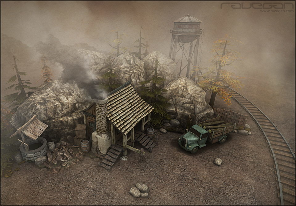 Ravegan games scene 01
