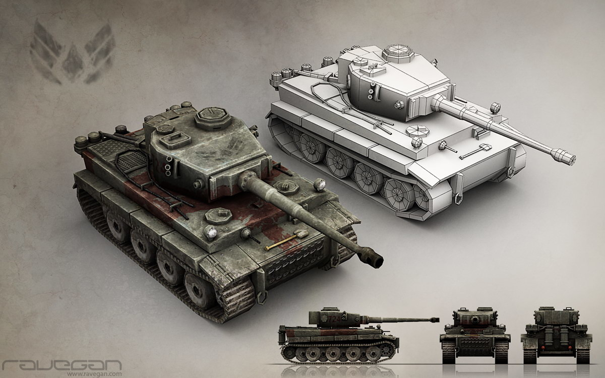 Ravegan games unt axis tankheavy small