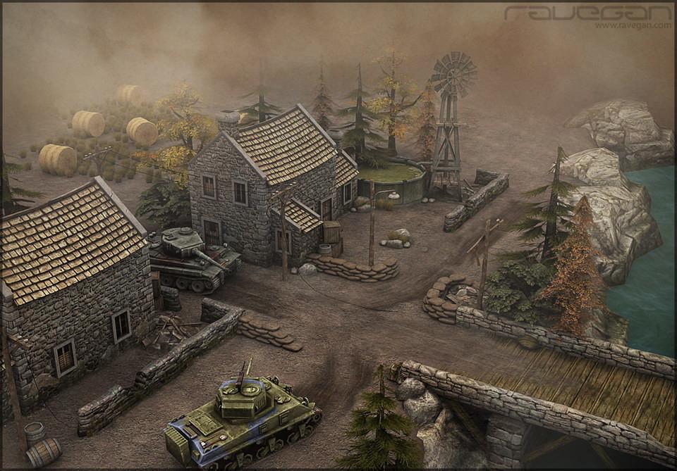 Ravegan games scene 02