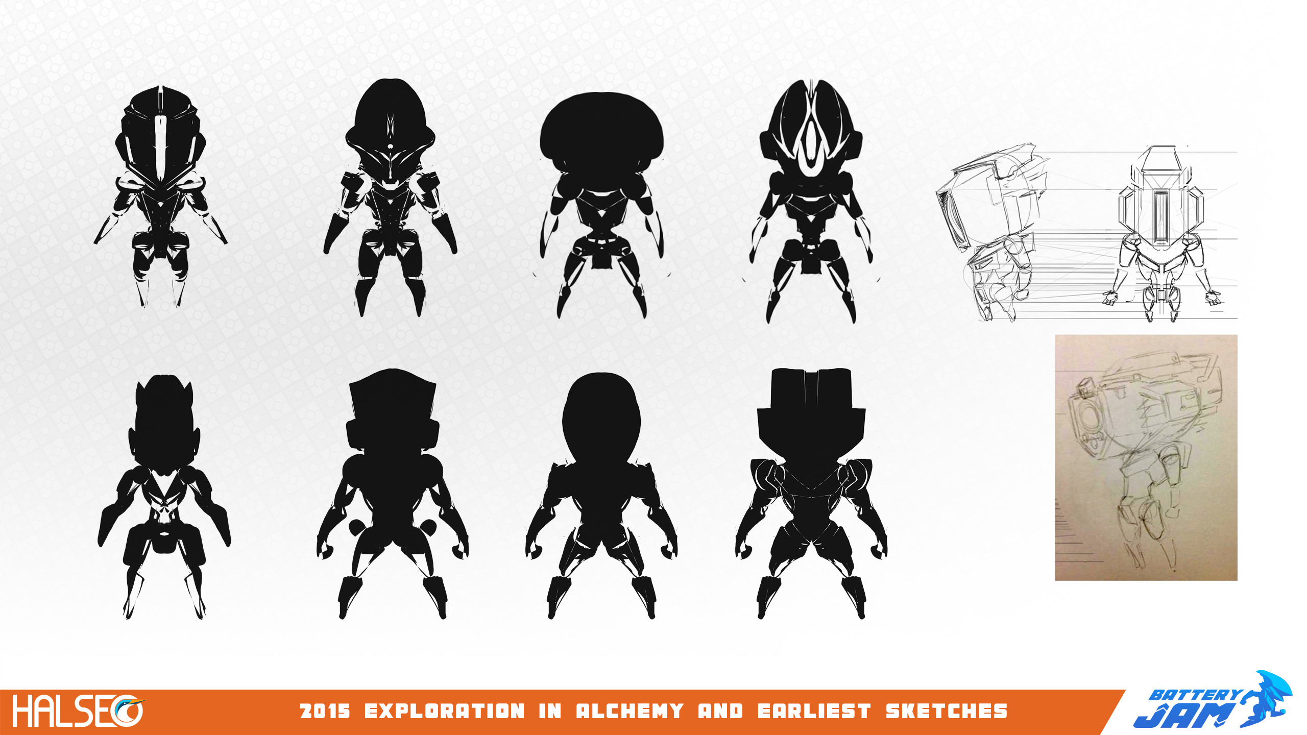 The very first concepts from when the project started in college.