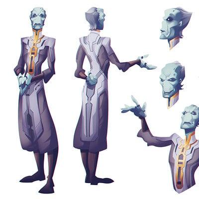 Valerio buonfantino character design ebony maw