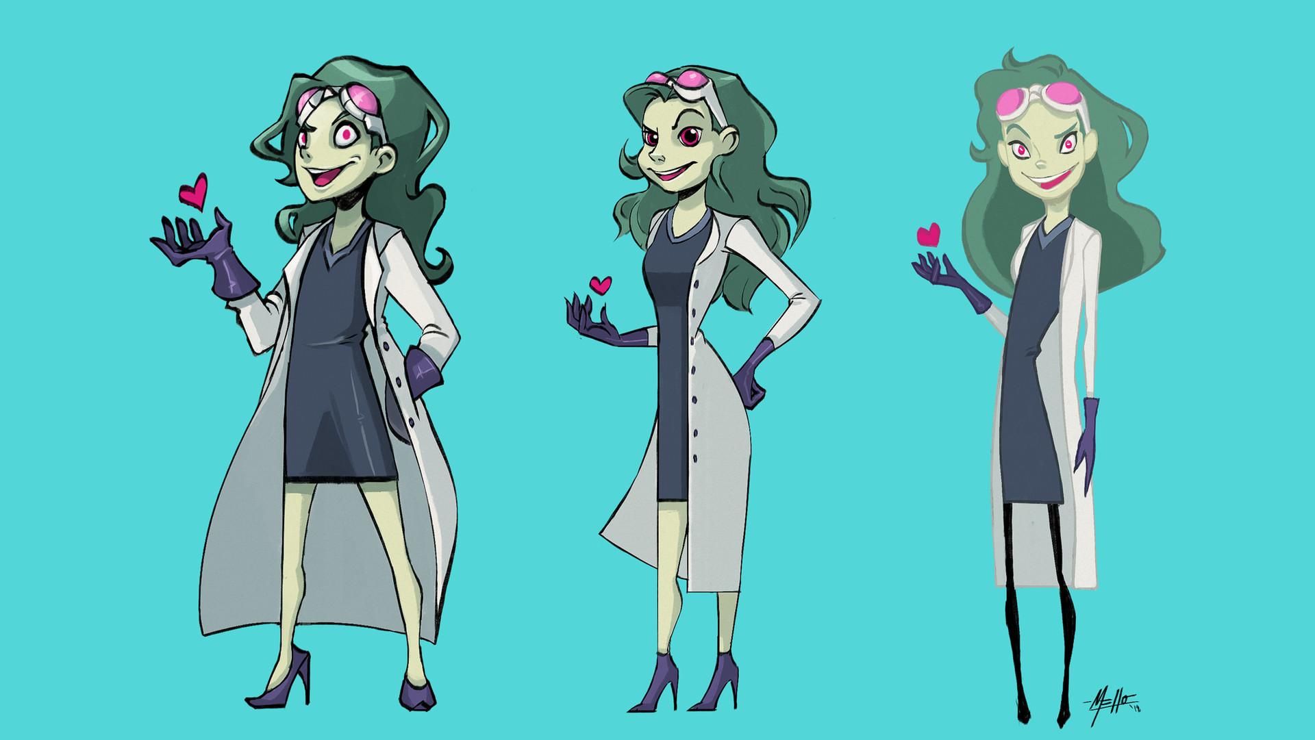 Michelle lo mixi character design 02