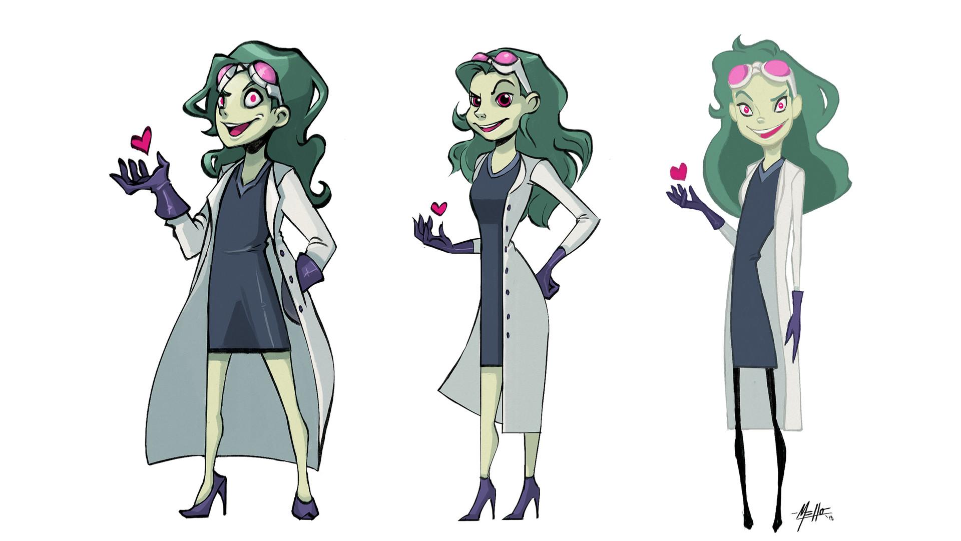 Michelle lo mixi character design 01